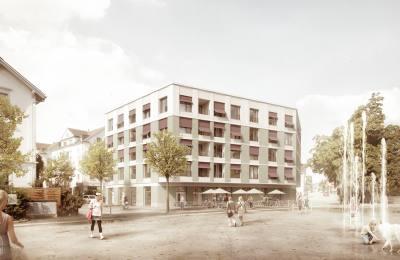 Wohnen Am Bahnhof zimmer schmidt architekten